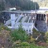 Elwha Dam Which Created Lake Aldwell
