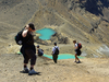 Emerald Lake Hikers - Tongariro Crossing