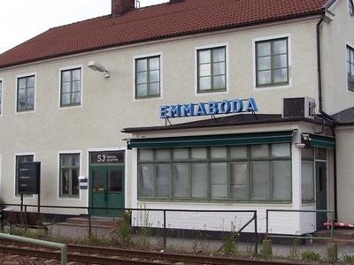 Emmaboda Railway Station