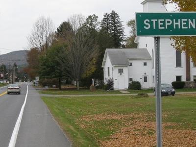 Entering Stephentown