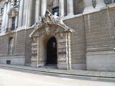 Entrance Door To The Old Bailey