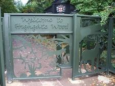 Entrance Gates To Highgate Wood