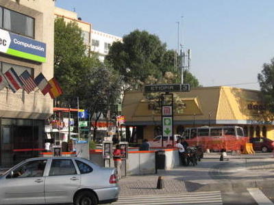 Entrance Metro Etiopia