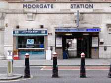 Entrance To Moorgate Station