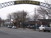 Entrance Arch To Williams.