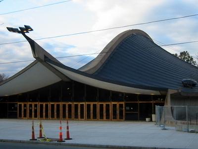 Entrance Of Ingalls Rink