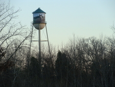 Painted Water Tower At The Prince George's County