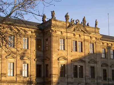 Erlangen Castle Is Home To A Large Part Of The University Admini