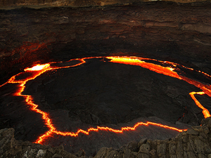 Helicopter Tour to Volcano of Erta Ale (Danakil Depression) Photos