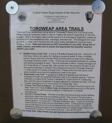 Esplanade Loop Trail Listing Board - Grand Canyon - Arizona - US