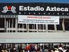 Spectators Outside Estadio Azteca