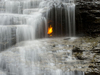 Eternal Flame Falls And Waterfall