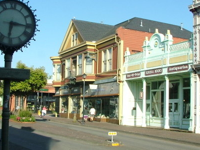 Eureka Cal Street