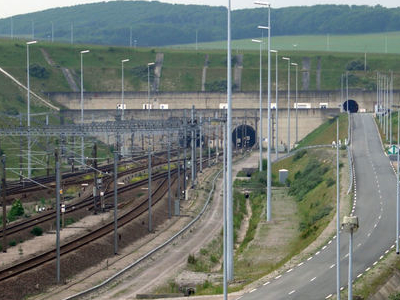 Entrance To The Channel Tunnel