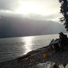 Evening By Lake Teletskoye