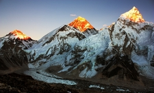 Evening View From Everest