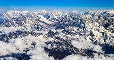 Everest Range - Himalayas Nepal