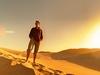 Exploring Gobi Desert In Mongolia