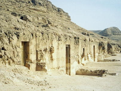 Tombs Of  Khety And  Barquet  I I I