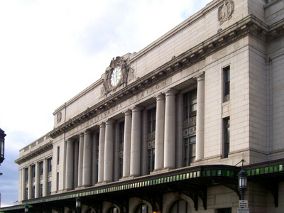 Exterior Of Penn Station