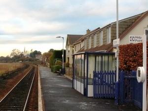 Exton estación de tren