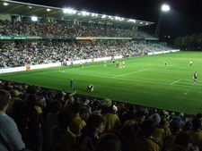 East Stand Ccbts At Night