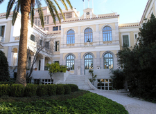 The Facade Of French School Athens