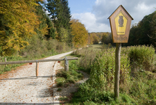 Entrance To The National Park In Lauterbach