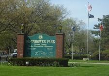 Eisenhower Park Main Entrance