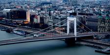 Elisabeth Bridge And The Danube