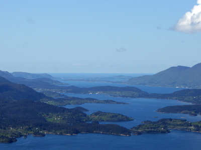 View Of Ellingsøya