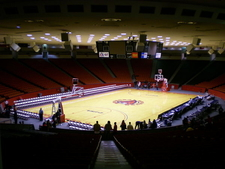 Interior Of Hofheinz Pavilion