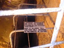 End Sign Eupalinian Aqueduct
