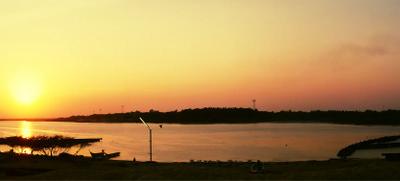 Ennore  Creek Sunset