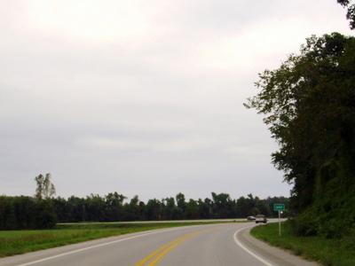 Entering Savoy On Highway 16