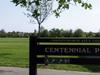 Entrance To Centennial Park
