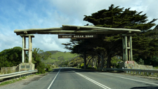 Entrance To Great Ocean Road