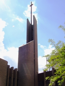 Steeple Of Epiphany Roman Catholic Church
