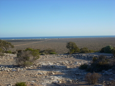 Coast Near Eucla From Eucla Pass