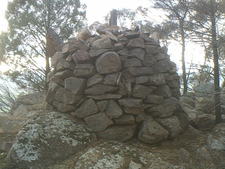 Euraldrie Trig Above Holy Camp