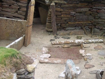 Excavated Dwellings At Skara Brae Europes Most Complete Neolithic Village.