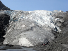 Exit Glacier In July 2009