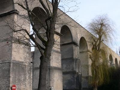 Remains Of The Roman Aqueduct