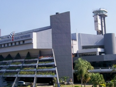 Faade Of Silvio Pettirossi International Airport