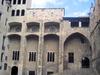 Façade Of The Palau Reial Major