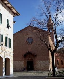 Facciata Chiesa Di San Francesco Grosseto