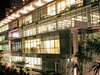 Faculty Of Economics And Business Tecnoaulas Building At Night