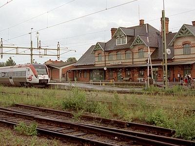 Fagersta Railway Station