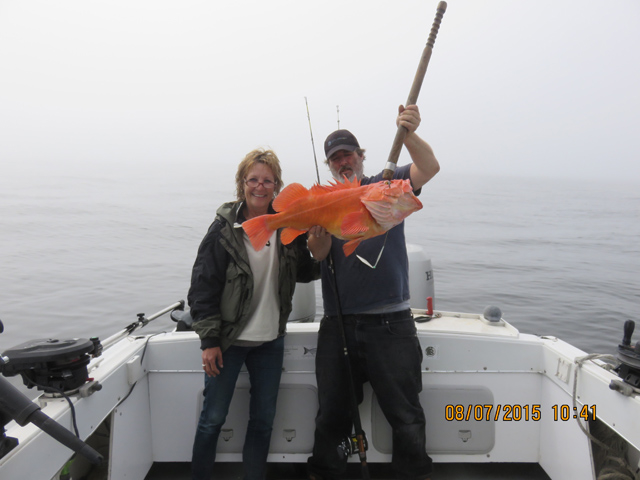 Fall Halibut Fishing Photos