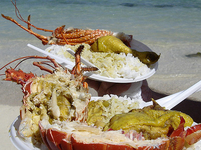 Famous Sea Food In Martinique